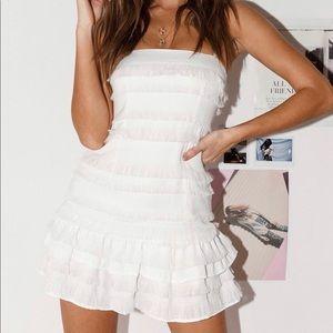 Princess Polly Molina Mini Dress in White